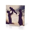 چاپ آنلاین عکس به صورت عکس چوبی 20×20 از نمای روبرو