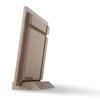 نمای پشت عکس چوبی 16x21 عمودی روی پایه