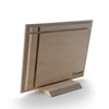 نمای پشت عکس چوبی 16x21 افقی روی پایه