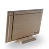نمای پشت عکس چوبی 20×30 افقی روی پایه