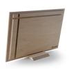 نمای پشت عکس چوبی 30x40 افقی روی پایه رومیزی